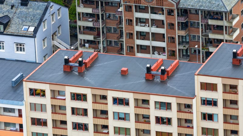 We are highly experienced in the particular challenges of apartment complex roofing repair