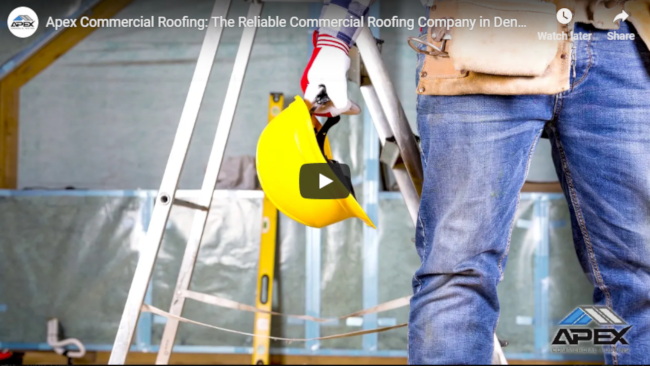 Apex Commercial Roofing: The Commercial Roofing Company You Can Count On  in Denver, CO